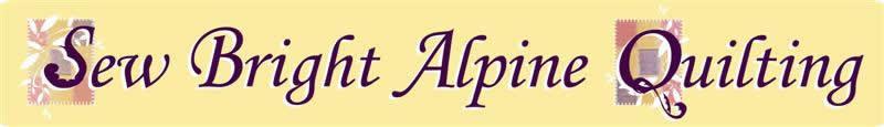 Sew Bright Alpine Quilting : sew bright alpine quilting - Adamdwight.com