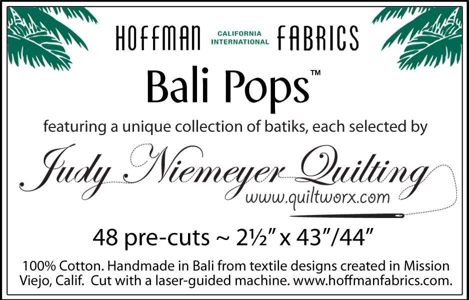 Bali Pops_Quiltworx label