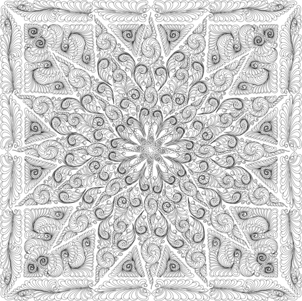 glacier coloring pages - feathered star