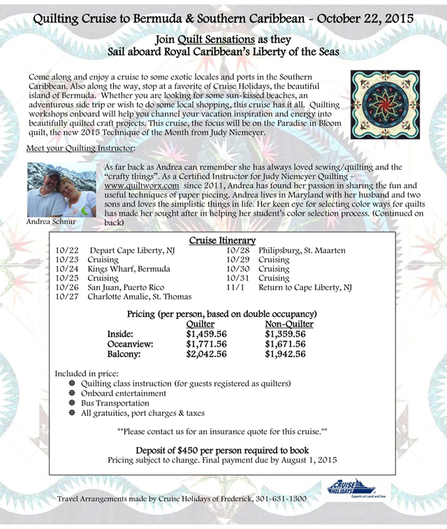 Quilters Cruise Flyer - 2015 Updated-1