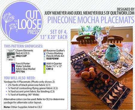 CLPQLT002_Pinecone Mocha Placemats Header