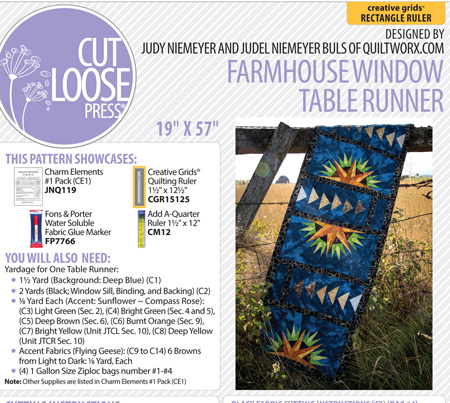 Farm house window