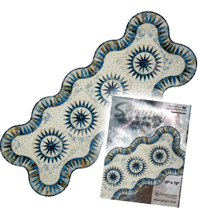 Stormy Seas Table Runner Pattern