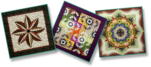 3 Sample Quilts