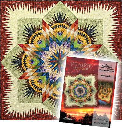 Prairie Star Quilt and Cover Sheet
