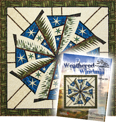 Weathered Windmill Quilt and Cover Sheet