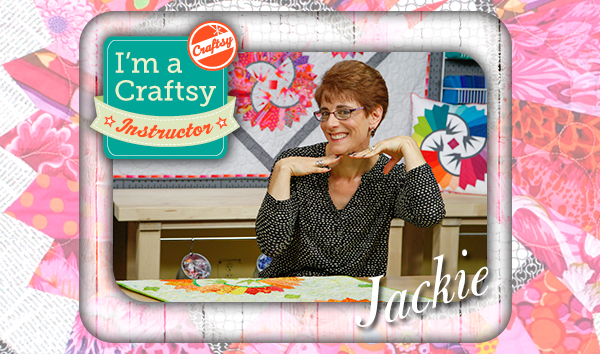 Jackie Kunkel, Craftsy Instructor