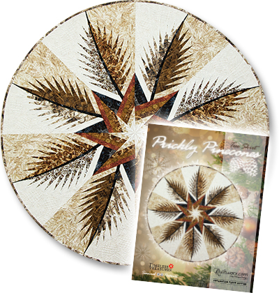 Prickly Pinecones Tree Skirt