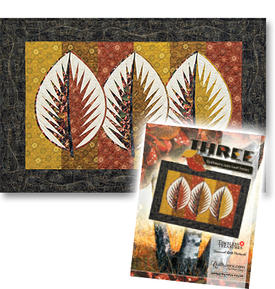 Three:  Quiltworx.com Leaf Series