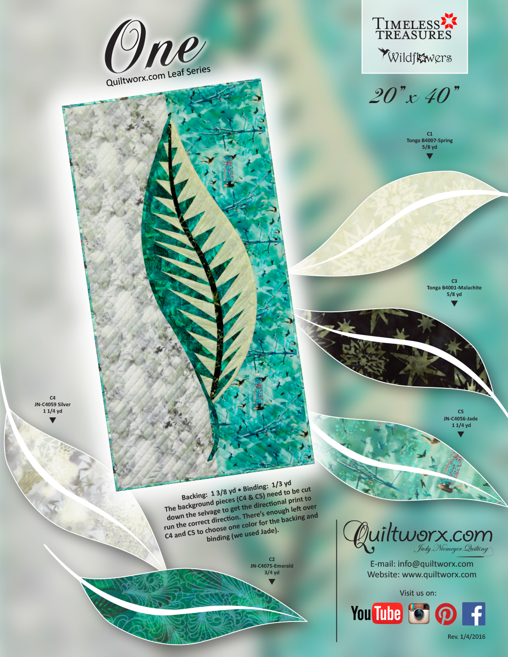 One-Leaf-Series-Cream-Teal-WF-KS-1