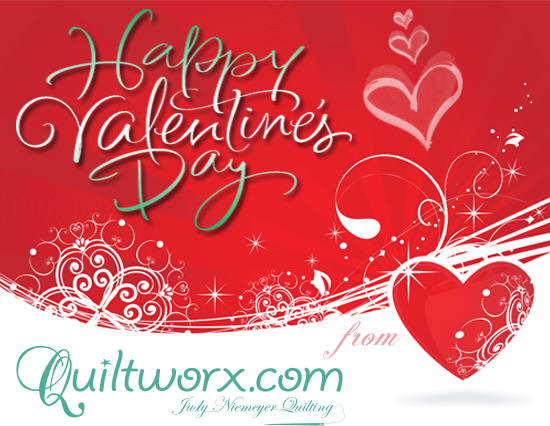 Happy Valentines Day from Quiltworx.com