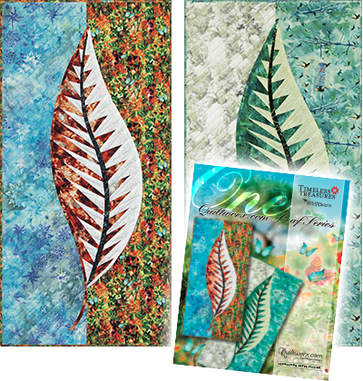 One: Quiltworx.com Leaf Series in Wildflowers