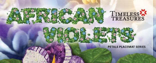 African Violets Banner