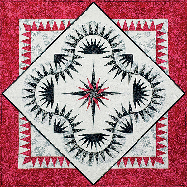 Red White Black Quilt Collection