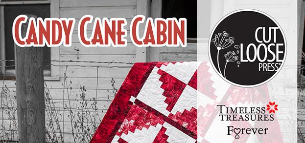 Candy Cane Cabin Banner