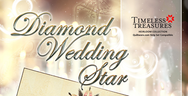 Diamond Wedding Star Banner