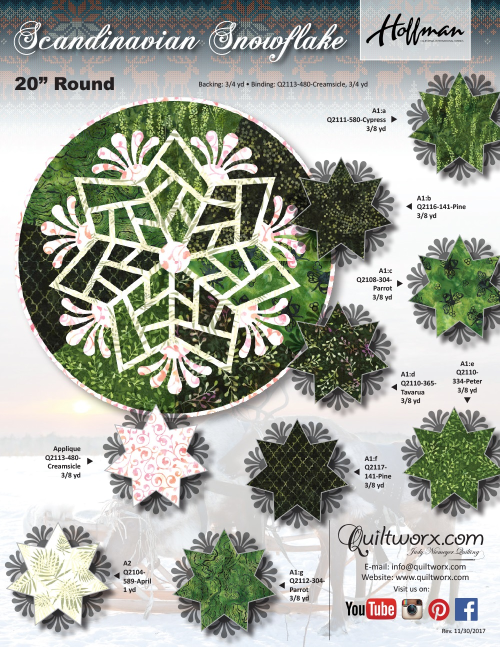 Scandinavian-Snowflake-(Green)-Hoffman-KS-1 - Copy