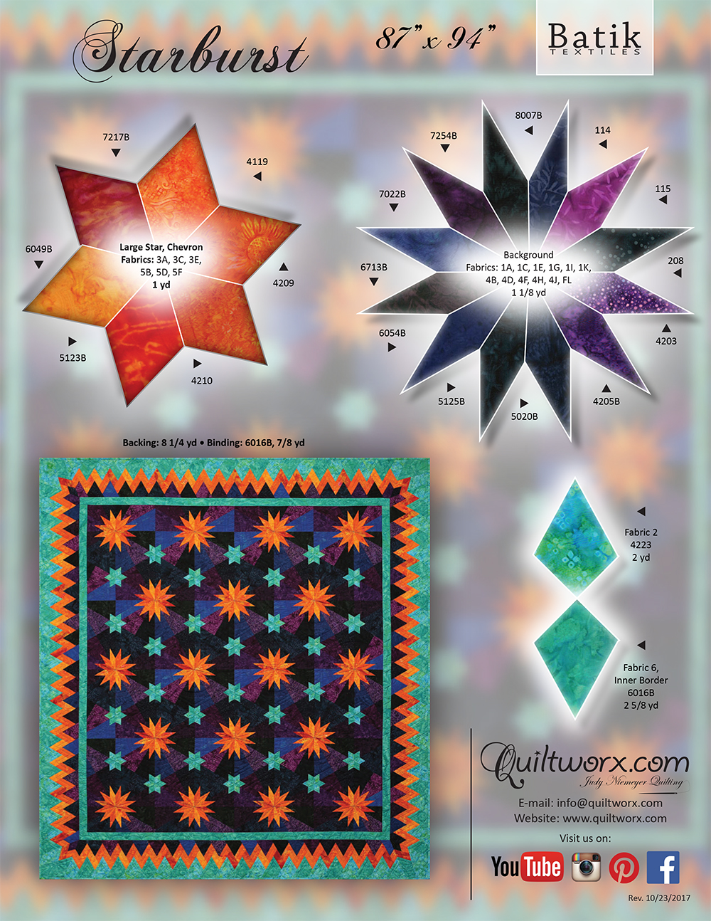 Starburst Batik Textiles KS-1_1000