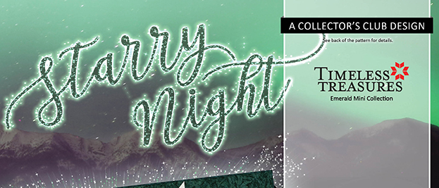 Starry Night Wall Emerald CS Banner