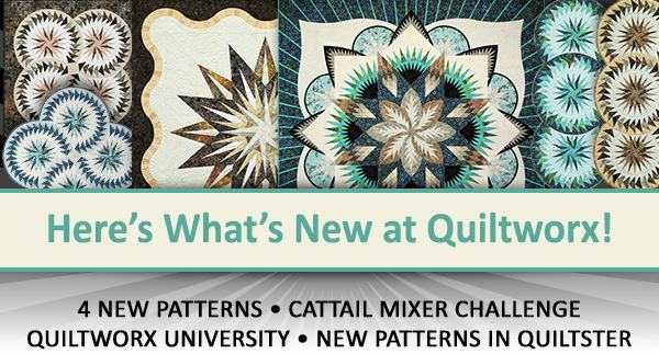 Here's what's new at Quiltworx for July 2019.
