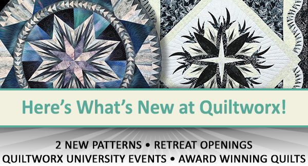 Here's what's new at Quiltworx for September 2019.