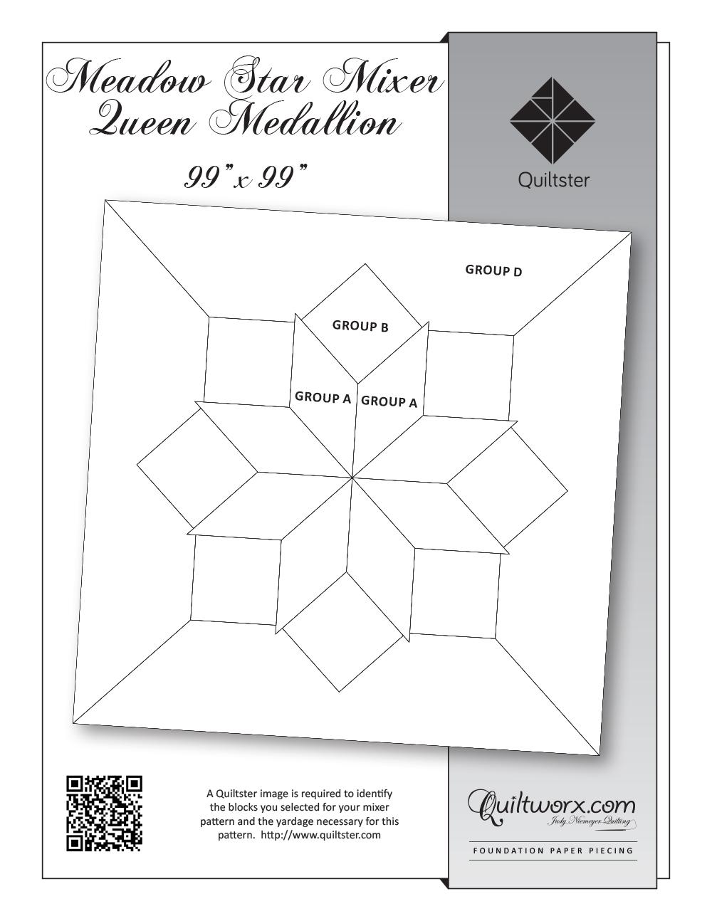 Meadow Star Mixer Queen Medallion