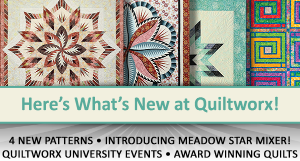 Here's what's new at Quiltworx for December 2019.