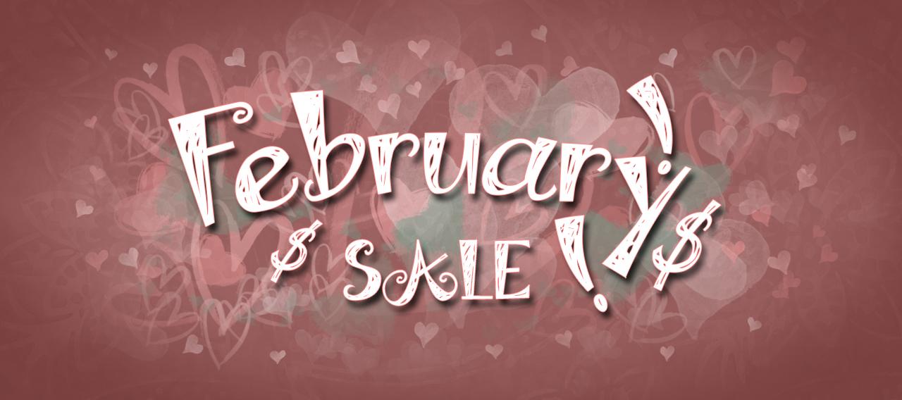 February 2021 Sale