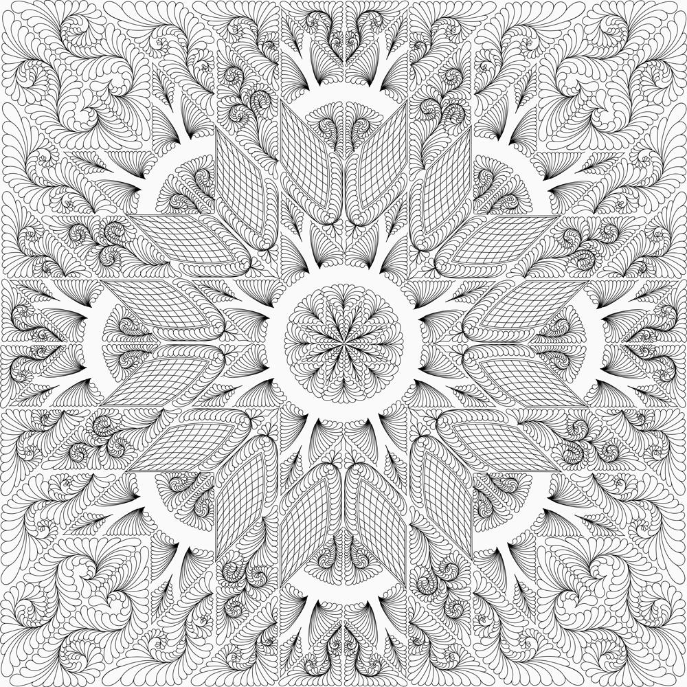 Amethyst Quilting Design