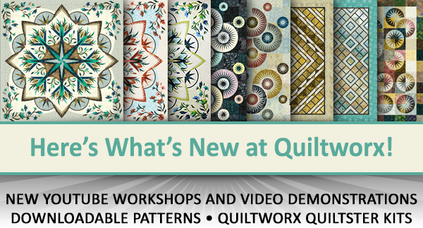Here's what's new at Quiltworx for April 2020.