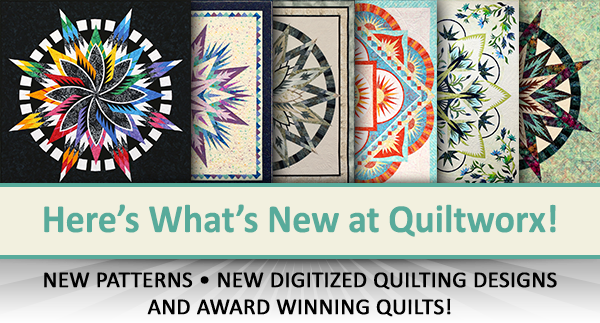 Here's what's new at Quiltworx for March 2020.