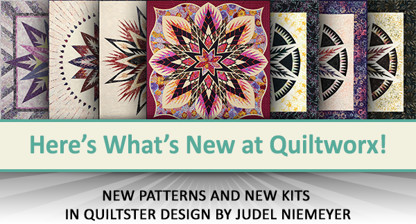 Here's what's new at Quiltworx for September 2020.