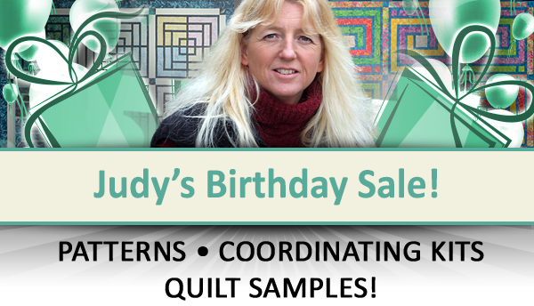 Judy's Birthday Sale