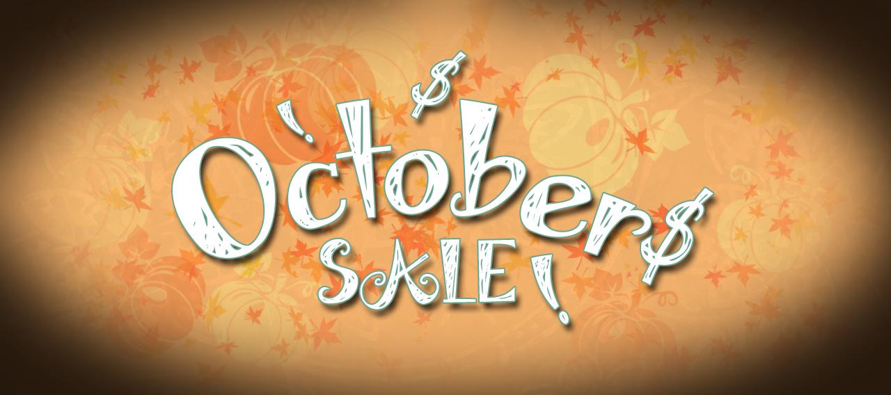 October 2020 Sale