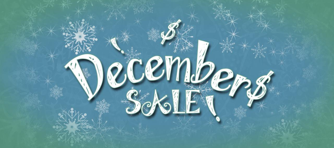 December 2020 Sale