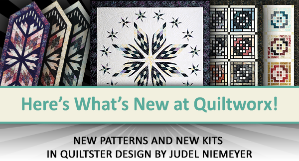 Here's what's new at Quiltworx for December 2020.