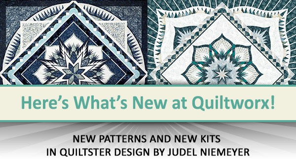 Here's what's new at Quiltworx for February 2021.