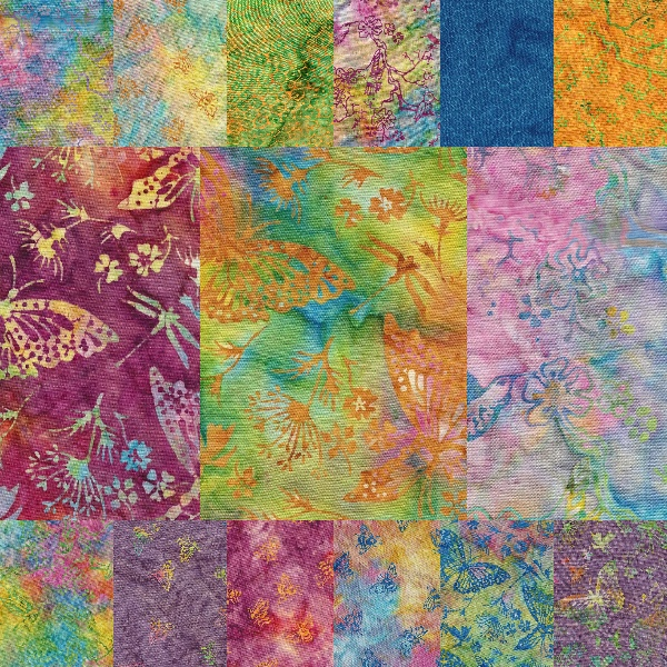 Batik Textiles Color Me Happy