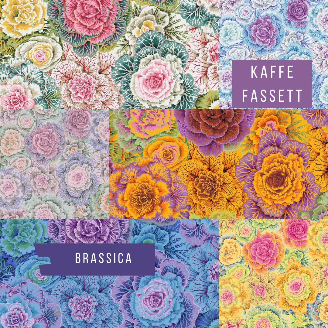 Free Spirit Kaffe Fassett Brassica