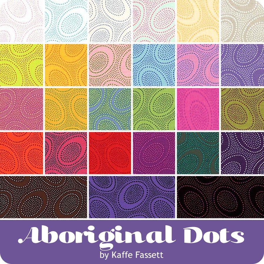 Free Spirit Kaffe Fassett Aboriginal Dot