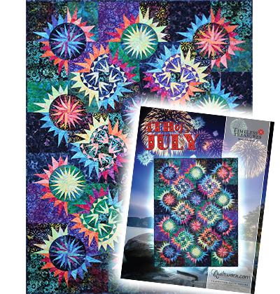 4th of July • 66x87 Timeless Treasures - 4th of July