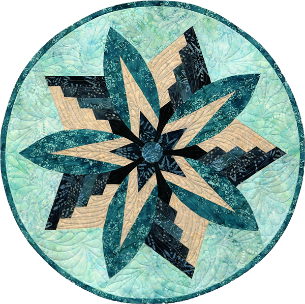 Rustic Mountain Snowflake